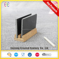 The stylish natural black slate massage board/slate memo chalkboard for home decoration