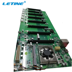 B250 ddr4 Bitcoin mining machine motherboard for mining rig 8 Pcie intel 3865 CPU mining motherboard