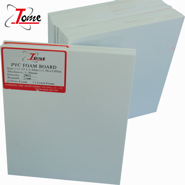 White 10mm Crust Foam Board <strong>PVC</strong>
