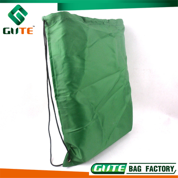 Polyester Or Nylon Drawstring Bag For Sport Backpack 210d Green ...