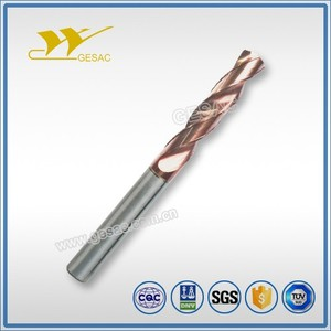 3D External Coolant Tungsten Carbide Drill Bits for Cast Iron Machining