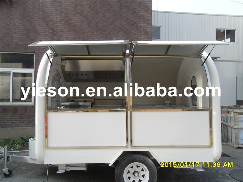 Ice Cream Cars Coffee Trucks For Sale Mobile Canteen Snack Trailer ...
