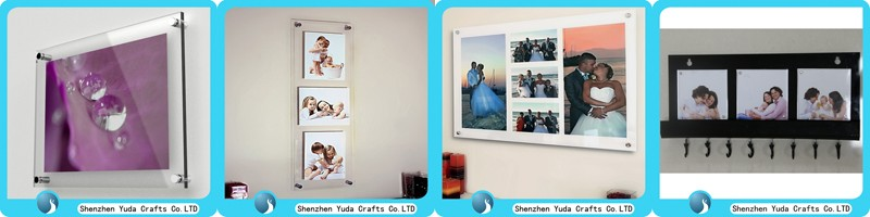 Clear Perspex Sign Holder Paper Insert Acrylic Fridge Magnet Photo ...