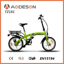 Import china mountain electric bikes/Fashion style 250W Brushless 24 V,Aodeson TZ181 quick folding electric bicycle