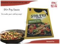 150g OEM ODM Standing Pouch General Tso Stir Fry Sauce
