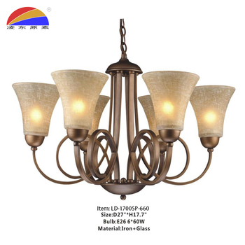 514df9986121 Iron glass and traditional type chandeliers & pendant lights lamps for home  hotel restaurant