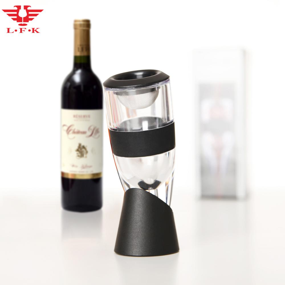 FDA & LFGB Approved LFK patent wholesale wine accessories aerator wine decanter bar tools 003A