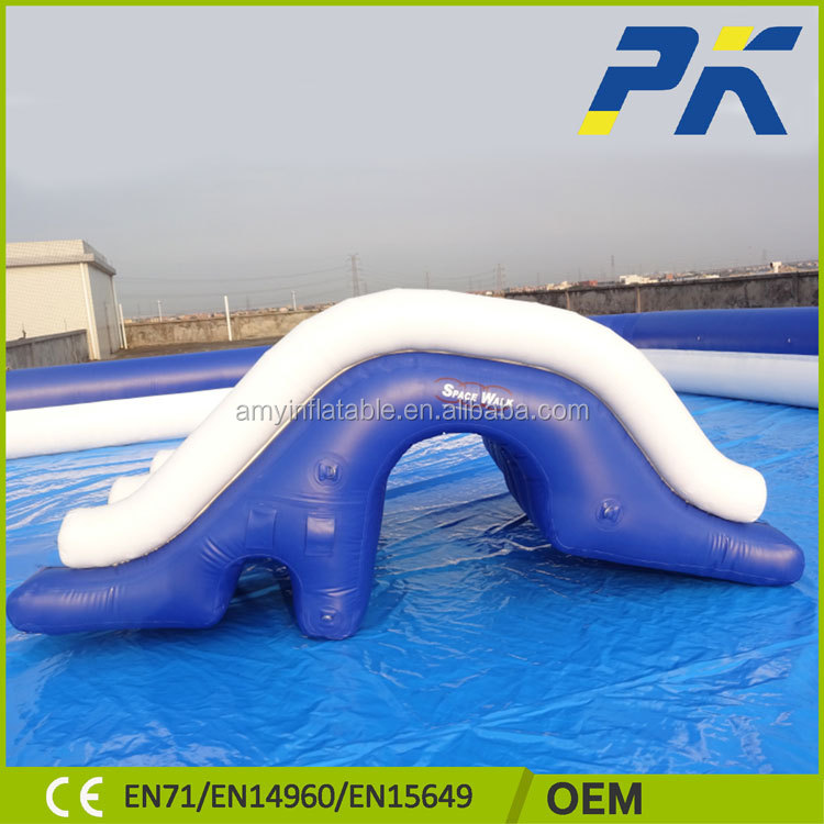 Welcome Customized Popular style Inflatable Pools High Quality Swimming Pool Water Games Park Equipment With Slides