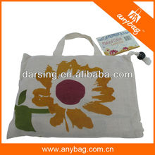 Foldable cotton bag shopping 2014