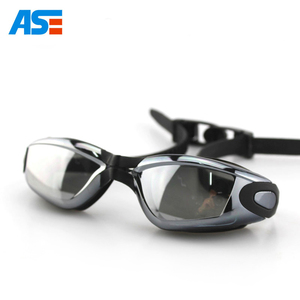 New Swimming Goggles with Anti fog UV Protection Mirrored Swim Glasses