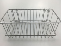 supermarket hanging metal display stand basket