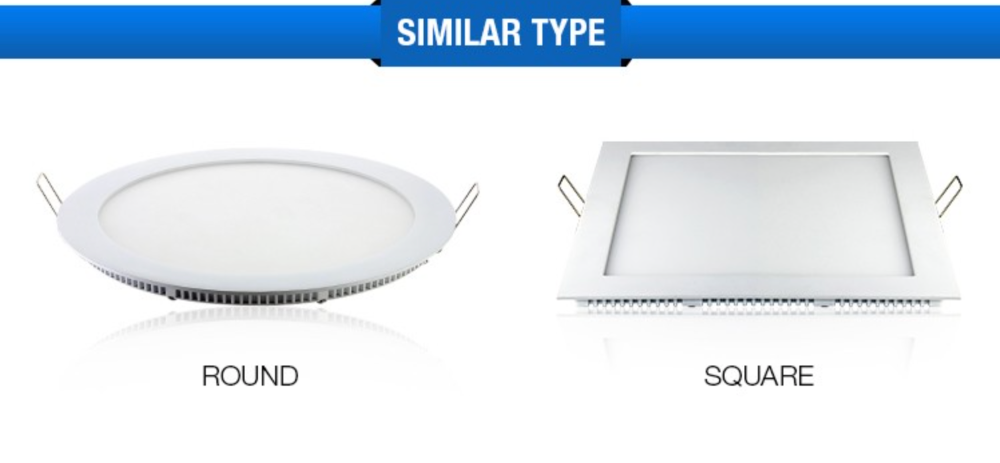 Round Recessed Ceiling SMD CE,ROHS,3w AC175-250V led panel light round,Ultra-thin led downlight