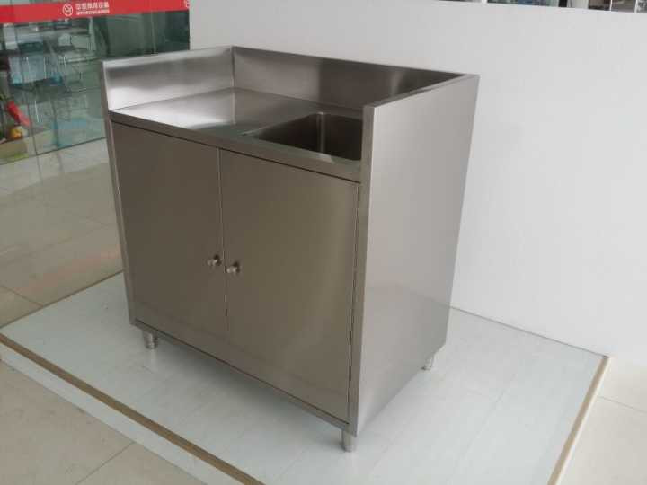 Commercial Stainless Steel Ready Made Kitchen Sink Cabinets