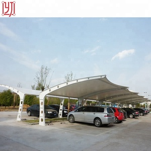 Metal roofing car parking sun shed canopy tent,cheap steel structure car parking shed roof design