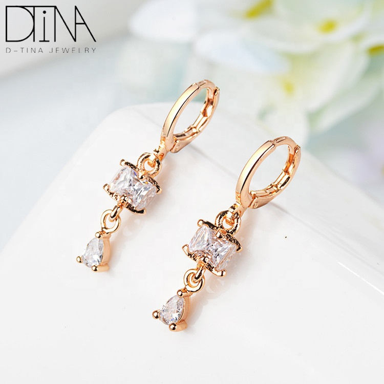 DTINA Brand Jewelry Trends 2019 Gifts Artificial Newest Earrings For Ladies