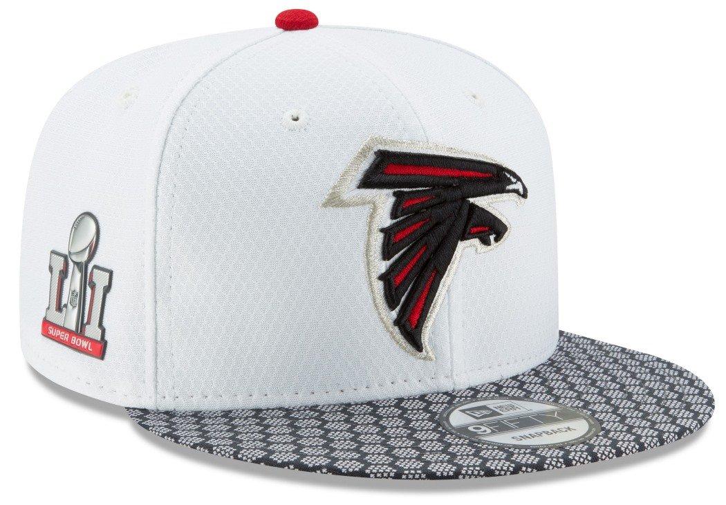 pretty nice f68f7 490dc Get Quotations · New Era Atlanta Falcons NFL Super Bowl LI Opening Night Snapback  Cap 9fifty 950