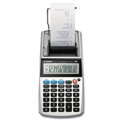 Canon P1DHV - P1-DHV One-Color 12-Digit Printing Calculator, 12-Digit LCD, Purple