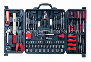 OEM factory for 132 piece motorcycle & autombile tools set , combination spanners hand tool set for home DIY