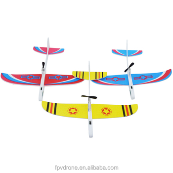 Upgraded Super Capacitor Electric Hand Throwing Free-flying Glider Diy  Airplane Model - Buy Capacitor Hand Throwing Glider Airplane Kit,Super