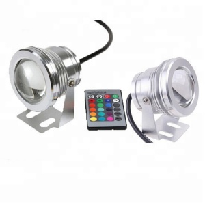 ip68 underwater led light 12V 10W RGB Color Changing underwater lamp