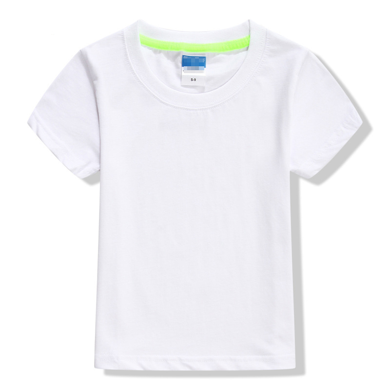 High quality 100% cotton colorful breathable oem printing logo plain blank dry quick children t shirt фото