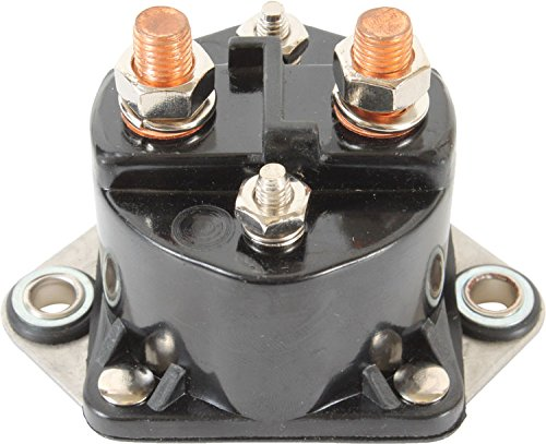 DB Electrical SCH6000 Universal Starter Solenoid Relay for China Made Scooter 12 Volt 2 Terminal