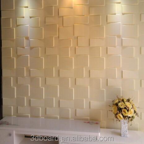 3d mdf panneaux muraux pour int rieur d coration murale for Enduit mur interieur