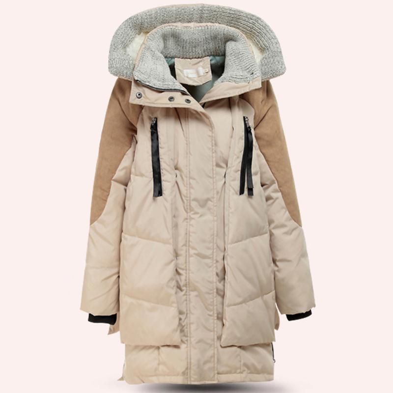 2015HOT ~ зима одежда для беременных женщины толще вниз куртка для беременных женщины закрытый воротник для беременных вниз пальто и верхняя одежда
