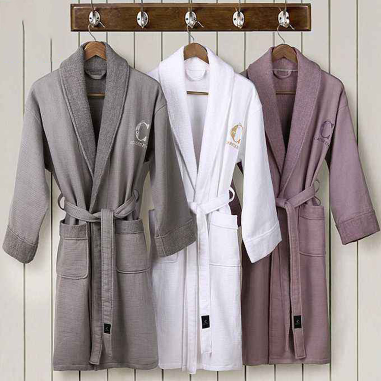 Comfortable And Soft Egyptian Cotton Family Bathrobe Sets
