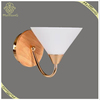 New Design Happer Shape Wall Sconce Lamp Glass Shade Indoor Decorative