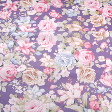 Hot Flowers Printing Wholesale super home textile printed cotton fabric