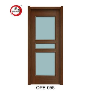 New Design Eco-Friendly Wooden Bathroom 3 Pieces Glass Door Design