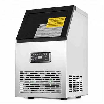 50kg Commercial Ice Maker Dry Ice Making Block Machine Ice Cube Maker Machine