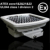 IP68 UL844 ATEX 80w 100w 120w led explosion-proof high bay lighting