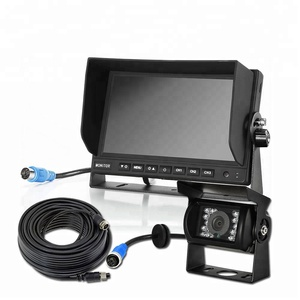 Auto Vehicle Car Reverse 7 Inch Lcd Monitor,24V Bus Tv Monitor 7 Car Screen System,School Bus Rear View 1080P Car Monitor