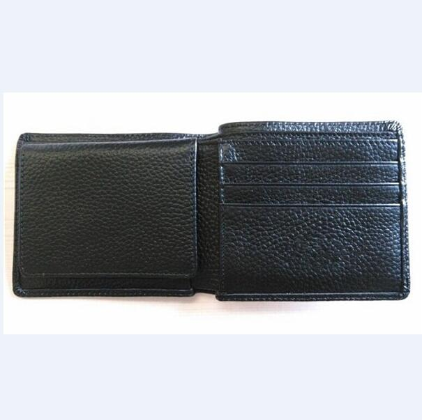 Boshiho genuine leather rfid information anti-theft men's wallet