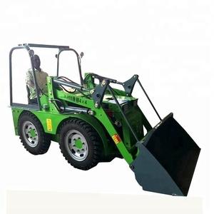 1 6 ton mini wheel loader with backhoe pallet fork grapple for sale