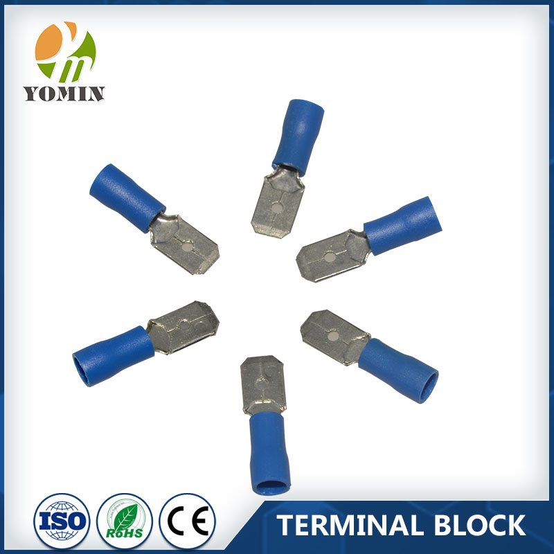 Factory Price For Pre-insulated MDD1.25-8 Cable Copper Compression Terminals Lug