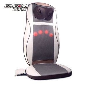 Car and Home Seat Neck And Back Shiatsu Massage Cushion Infrared And Heating System
