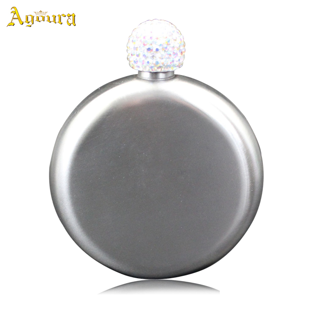 Diamond cover 304 stainless steel round flask