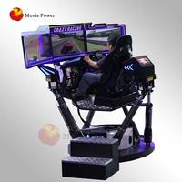 2019 popular item f1 simulador driving simulator virtual reality games 6 Dof Racing Car Simulator