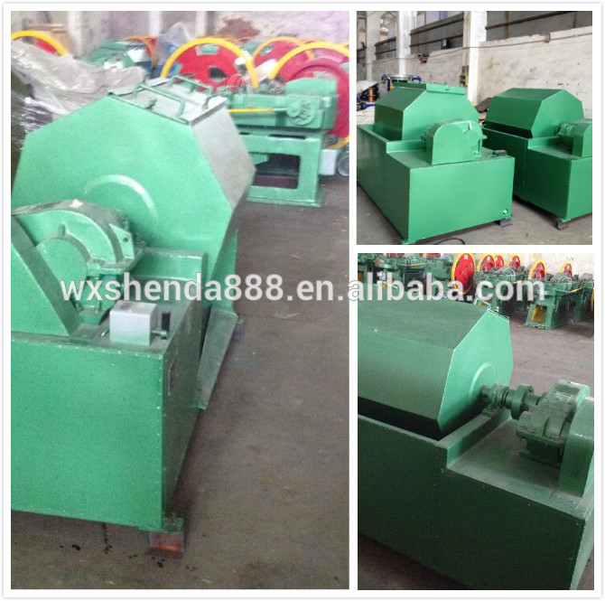 Wuxi Shenda High Speed Low Noise Nail Processing Machine for Nail Making Production Line
