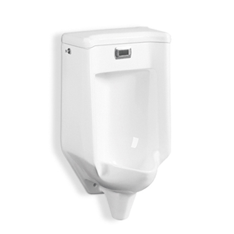 Gravity Flushing The Wall Hung Male Urinal