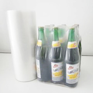 China Good quality pallet ldpe shrink wrap stretch film roll for package blowing drinks packaging