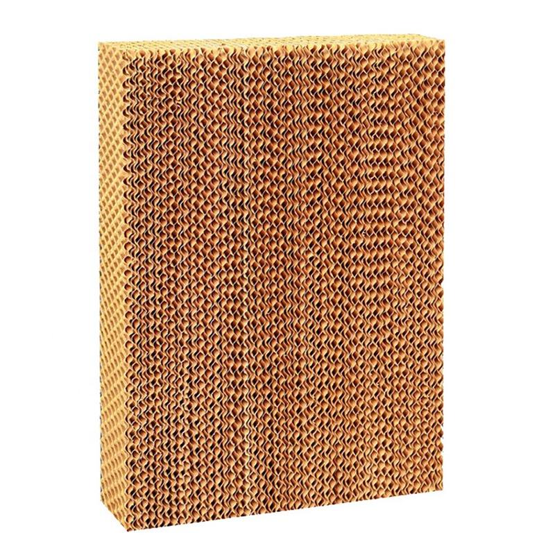 Sóng Cellulose Cooler Ướt Tường Bay Hơi Làm Mát Hệ Thống Và Pad