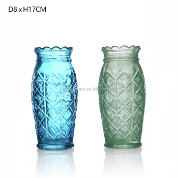 Different Types Flower Glass Vase Home Decoration Glass Vases Buy