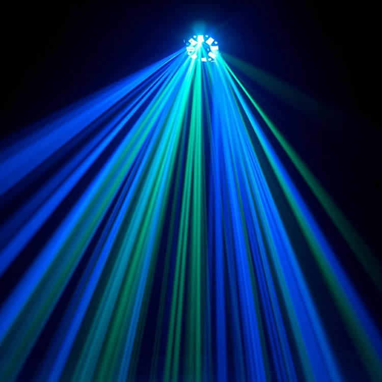 Factory Sale Derby Effect Lighting 3in1Laser LED Stage Light