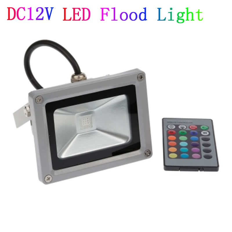 dc 12v 10w 20w 30w 50w led floodlight outdoor spotlight spot flood light lamp rgb refletor led. Black Bedroom Furniture Sets. Home Design Ideas