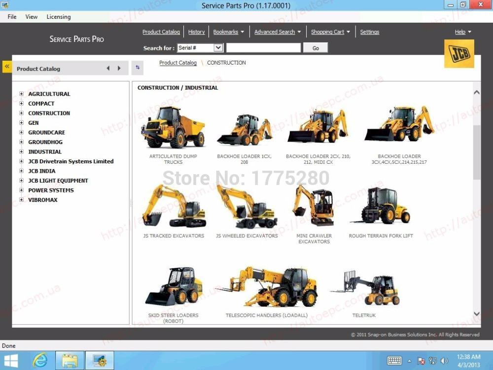 Jcb shop online