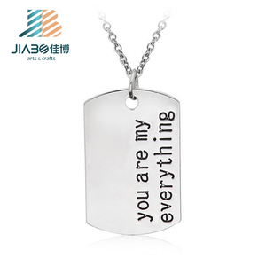 zinc alloy metal dogtag wholesale customized engraving cheap military dog tags